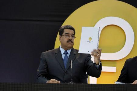 Venezuela launches oil-backed 'Petro' crypto currency amid USA  sanctions