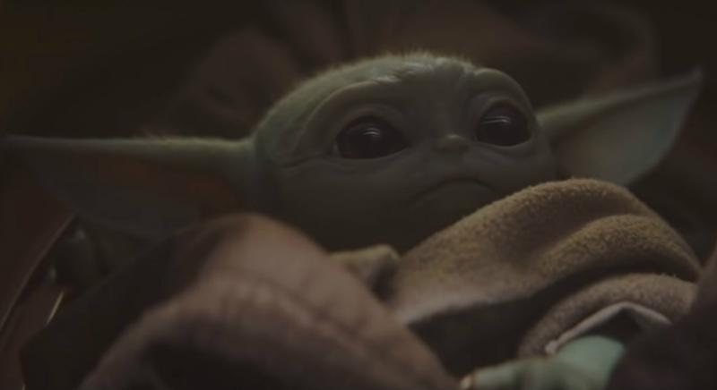 Yoda bebé en Star Wars: 'The Mandalorian' de Disney+.