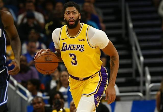 NBA: Los Angeles Lakers at Orlando Magic