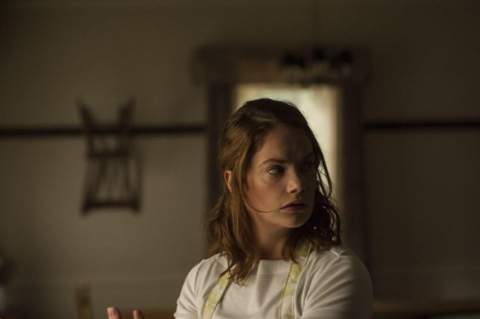 """<p>Starring Ruth Wilson and Paula Prentiss, the Canadian film <strong>I Am the Pretty Thing That Lives in the House</strong> tells the story of a live-in nurse who winds up taking care of a horror novelist only to find that the home they reside in is haunted.</p> <p>Watch <a href=""""http://www.netflix.com/title/80094648"""" class=""""link rapid-noclick-resp"""" rel=""""nofollow noopener"""" target=""""_blank"""" data-ylk=""""slk:I Am the Pretty Thing That Lives in the House""""><strong>I Am the Pretty Thing That Lives in the House</strong></a> on Netflix now.</p>"""