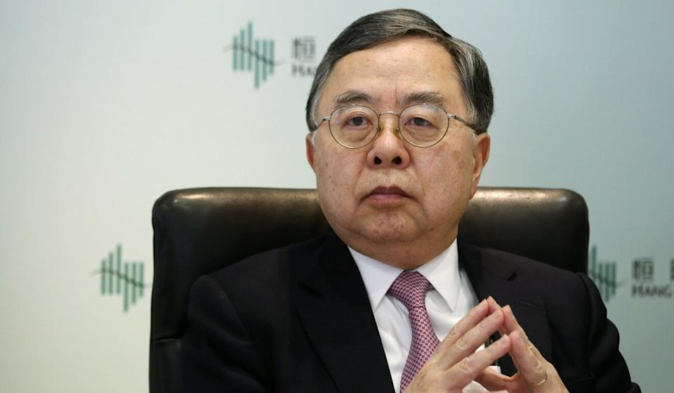 Ronnie Chan, chairman of Hang Lung Properties, said the current crisis is 'unprecedented'. Photo: Jonathan Wong
