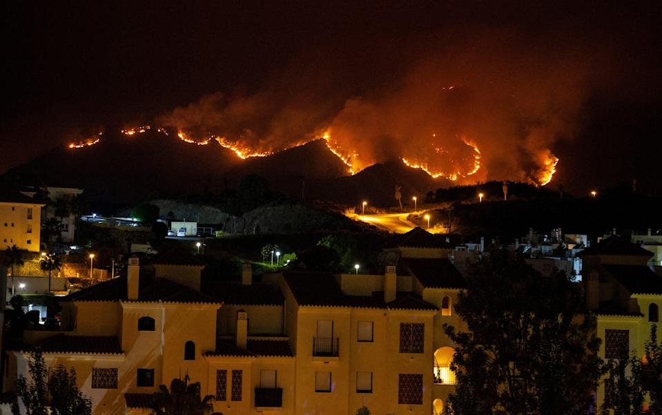 Spanish police suspect drug traffickers started massive Costa del Sol wildfire as 'distraction' - Bianca de Vilar /Getty Images Europe