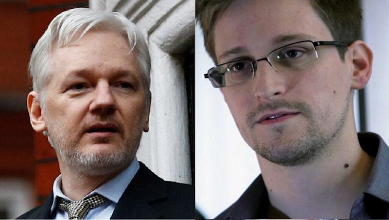 Edward Snowden Calls Julian Assange's Arrest a 'Dark Moment for Press Freedom'