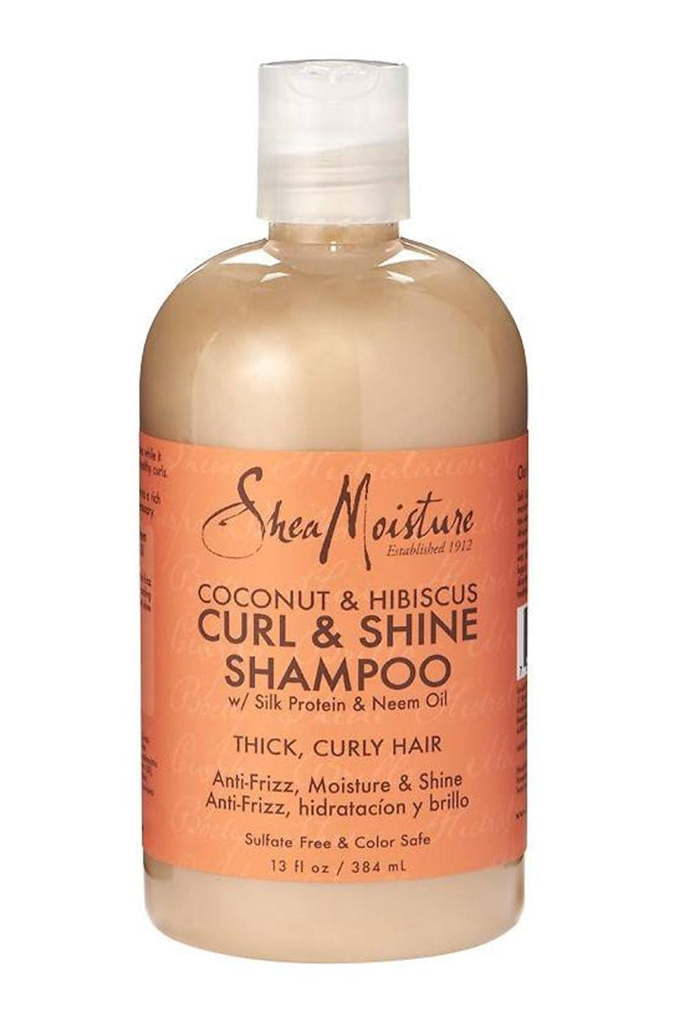"<p><strong>SheaMoisture</strong></p><p>ulta.com</p><p><strong>$11.49</strong></p><p><a href=""https://go.redirectingat.com?id=74968X1596630&url=https%3A%2F%2Fwww.ulta.com%2Fcoconut-hibiscus-curl-shine-shampoo%3FproductId%3DxlsImpprod6390355&sref=https%3A%2F%2Fwww.cosmopolitan.com%2Fstyle-beauty%2Fbeauty%2Fg22740377%2Forganic-shampoo%2F"" rel=""nofollow noopener"" target=""_blank"" data-ylk=""slk:Shop Now"" class=""link rapid-noclick-resp"">Shop Now</a></p><p><a href=""https://www.cosmopolitan.com/style-beauty/beauty/news/a34577/curly-hair-hacks/"" rel=""nofollow noopener"" target=""_blank"" data-ylk=""slk:Curly hair"" class=""link rapid-noclick-resp"">Curly hair</a> types will love the coconut oil, shea butter, and hibiscus extracts in this organic shampoo from Shea Moisture. It's free from sulfates (the enemy of curls and coils everywhere) but packed with a <strong>yummy, tropical scent that leaves your hair smelling amazing</strong> for hours.</p>"