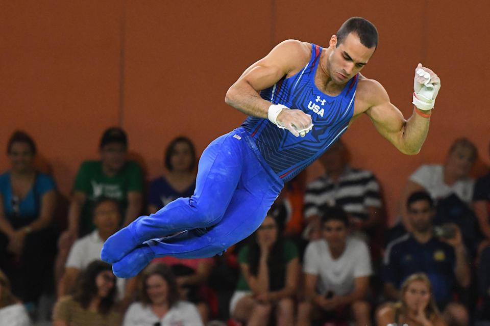 Danell Leyva won silver medals in the parallel bars and high bars in the Rio Olympics.