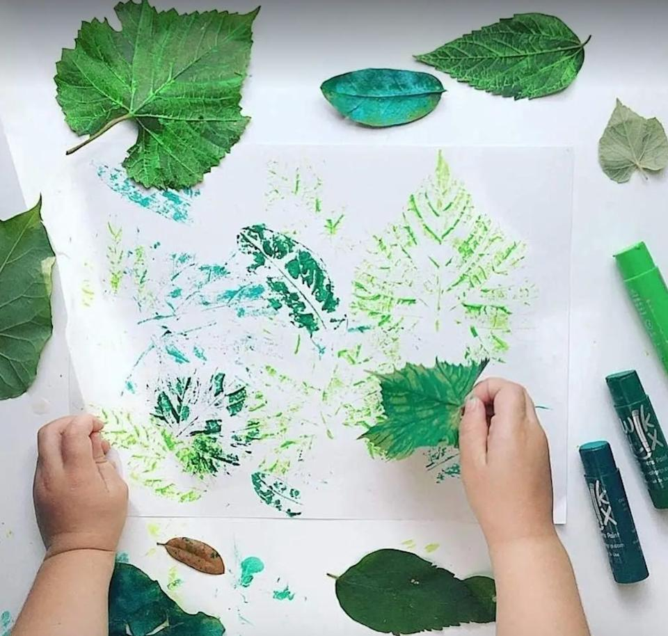 """Paint your heart out without making a mess, thanks to these sticks that don't leave smudges on paper, wood and other craft-friendly surfaces.<br /><br /><a href=""""https://amzn.to/3hAvtrT"""" target=""""_blank"""" rel=""""noopener noreferrer""""><strong>Get a 24-pack on Amazon for$20.26.</strong></a>"""