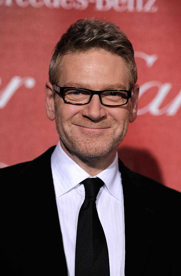 """<a href=""""http://movies.yahoo.com/movie/contributor/1800019957"""">Kenneth Branagh</a> attends the 23rd Annual Palm Springs Film Festival awards gala on January 7,2012."""