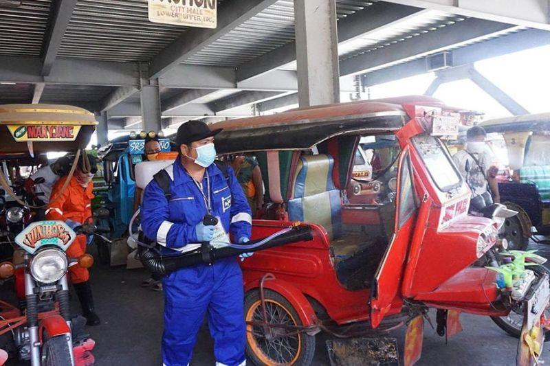 300 tricycles in Talisay disinfected