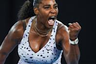 Serena Williams is on the Australian Open entry list