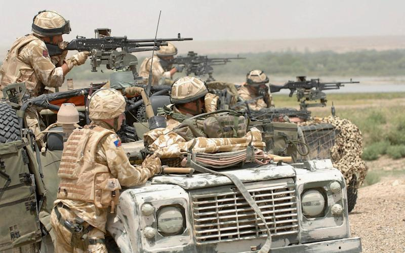 The UK has around 400 troops in Iraq and around 1,000 inAfghanistan