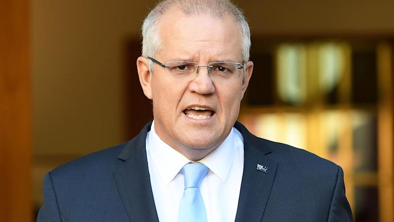Scott Morrison, pictured here at a press conference in Canberra.