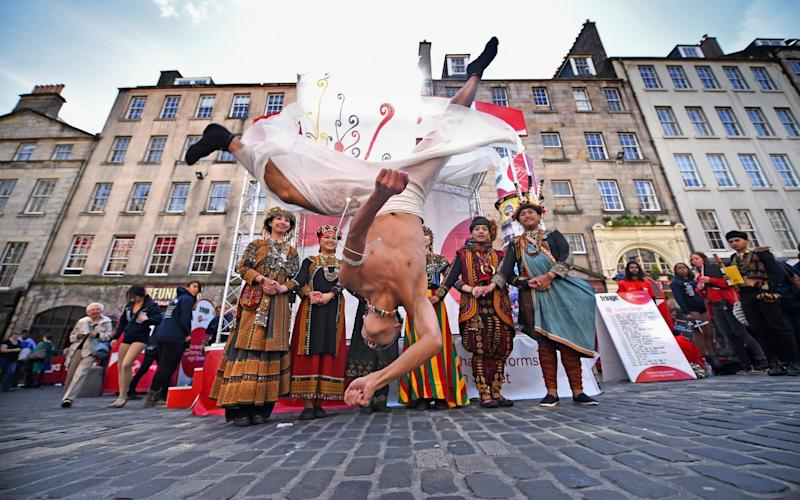 The Edinburgh Fringe Festival has been cancelled  -  Getty Images Europe