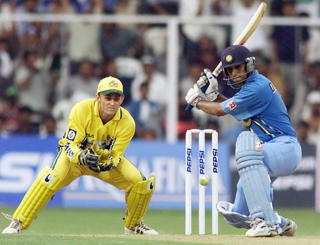 Though Dravid scored 951 ODI runs in 2007, he was dropped from India's side in the 50-over format in December that year, as his batting was considered to be slow for one-dayers.