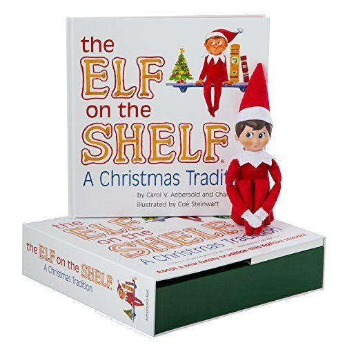 """<p><strong>The Elf on the Shelf</strong></p><p>amazon.com</p><p><strong>$29.95</strong></p><p><a href=""""https://www.amazon.com/dp/0976990709?tag=syn-yahoo-20&ascsubtag=%5Bartid%7C10050.g.22778889%5Bsrc%7Cyahoo-us"""" rel=""""nofollow noopener"""" target=""""_blank"""" data-ylk=""""slk:Shop Now"""" class=""""link rapid-noclick-resp"""">Shop Now</a></p><p><strong>Age range: </strong>3+ years</p><p>The <a href=""""https://www.countryliving.com/diy-crafts/g22690552/funny-elf-on-the-shelf-ideas/"""" rel=""""nofollow noopener"""" target=""""_blank"""" data-ylk=""""slk:Elf on the Shelf"""" class=""""link rapid-noclick-resp"""">Elf on the Shelf</a> has solidified its status as an annual Christmas tradition, and it all starts with this book.</p>"""