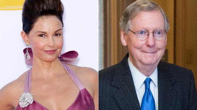 Ashley Judd Weighs Senate Bid as McConnell Does Harlem Shake