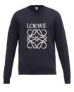 """<p><strong>Loewe</strong></p><p>matchesfashion.com</p><p><strong>$690.00</strong></p><p><a href=""""https://go.skimresources.com?id=74968X1525079&xs=1&url=https%3A%2F%2Fwww.matchesfashion.com%2Fus%2Fproducts%2FLoewe-Anagram-embroidered-cotton-jersey-sweatshirt-1389979"""" rel=""""nofollow noopener"""" target=""""_blank"""" data-ylk=""""slk:Shop Now"""" class=""""link rapid-noclick-resp"""">Shop Now</a></p><p>Detailed with the brand's designer logo across the front, Loewe's sweatshirt has the ability to be dressed up or down with ease. </p>"""