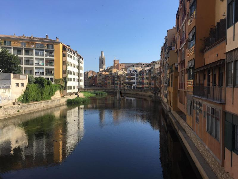 Girona is blissfully quiet compared to Barcelona: Matt Payton