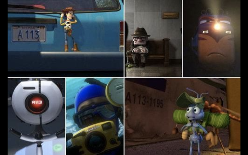 Some of the A113 appearances are subtler than others (credit: Pixar)