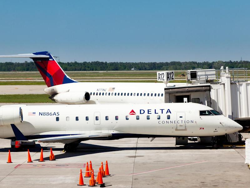 One Delta airlines passenger had a luxury surprise upon arriving for his flight: Getty Images