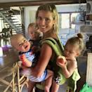 """<p>The actor showered his wife Elsa Pataky with lots of love, including on social media by posting a throwback photo of her with their three children. """"Happy Mother's Day to all the brilliant, hardworking, kid carrying, bar raising, husband-putting-up-with-ing woman out there!! We salute you 👏💗🙏 @elsapatakyconfidential,"""" Hemsworth applauded.</p>"""