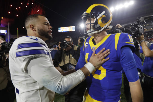 Jared Goff established the QB market with his $134 million deal. (AP)