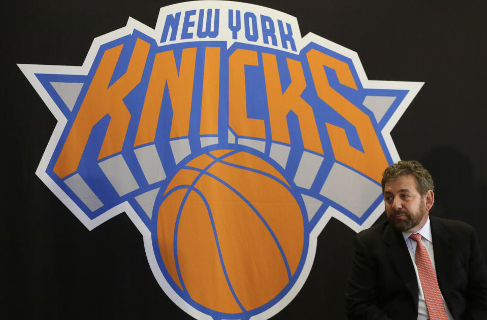 Despite their recent struggles, and an outcry from fans, James Dolan has no plans to sell the Knicks.