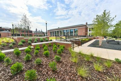 The new $44 million Brown-Kopel Engineering Student Achievement Center at Auburn University has 142,000 square feet of space to support students in their academic and professional needs.