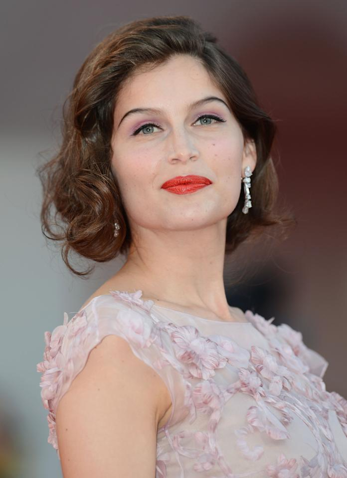 "VENICE, ITALY - SEPTEMBER 08:  Laetitia Casta attends the Award Ceremony And ""L'Homme Qui Rit"" Premiere during The 69th Venice Film Festival at the Palazzo del Cinema on September 8, 2012 in Venice, Italy.  (Photo by Ian Gavan/Getty Images)"