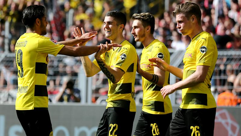 Pulisic owns up over freak Dortmund goal