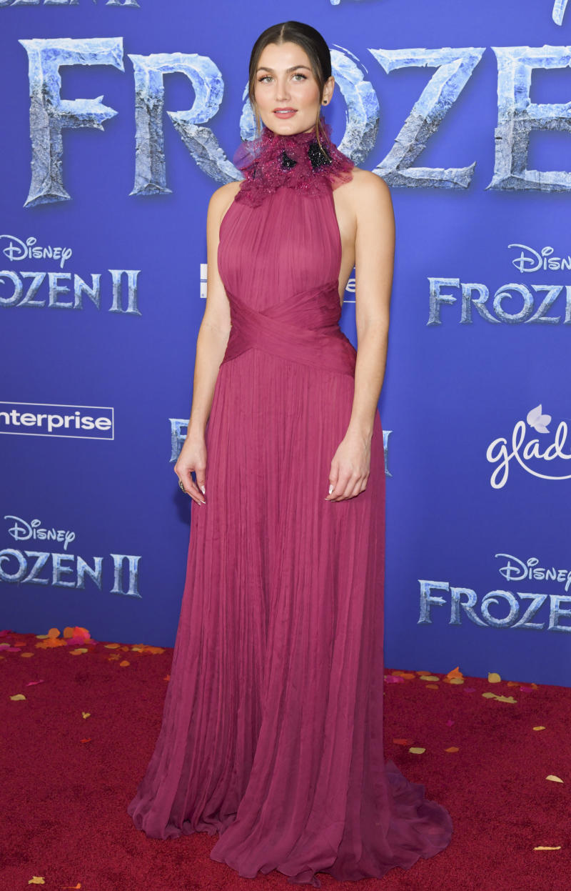 """""""Frozen 2"""" actress Rachel Matthews revealed she has tested positive for coronavirus. (Photo by Rodin Eckenroth/WireImage)"""