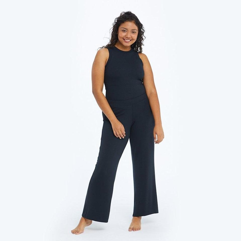 <p>The best thing about <span>Summersalt's The Softest Ribbed Lounge Pants</span> ($80)? Mixing and matching them with just about any top. We love options!</p>