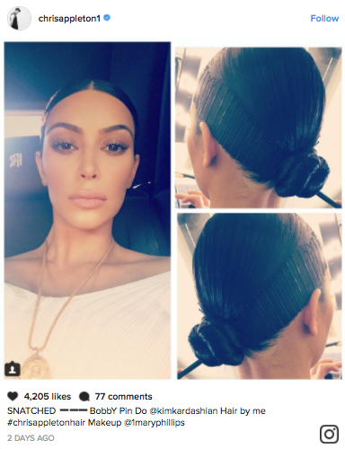 """Kim Kardashian's """"Bobby Pin Hairstyle"""" Is Coming Under Fire for Cultural Appropriation"""