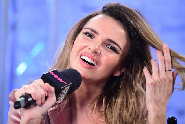 Nadine Coyle has revealed she is back in touch with her Girls Aloud bandmates. (PA)