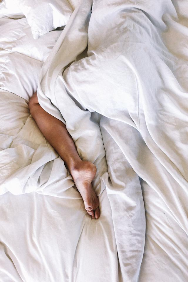 """<p>I know I've said the bed is your foundation, and the mattress is the single most important element of the bed, but the sheets are high up there too. Again, like mattresses, sheets preference is subjective, but there are some basic rules to follow, no matter what you like.</p> <ul> <li>Always go for 100 percent natural fibers. That means cotton, linen, satin, bamboo, etc. It sounds obvious, but some sheets are polyester or polyester blends, and <a href=""""https://homeguides.sfgate.com/polyester-cotton-bedding-better-101461.html"""" target=""""_blank"""" class=""""ga-track"""" data-ga-category=""""Related"""" data-ga-label=""""https://homeguides.sfgate.com/polyester-cotton-bedding-better-101461.html"""" data-ga-action=""""In-Line Links"""">they don't breathe like cotton</a>, stain easily, and can pill. For comfort factor alone, avoid sheets with polyester or any other man-made fabric.</li> <li>Thread count doesn't really matter. Don't tell <a href=""""https://www.popsugar.com/entertainment/Best-Tom-Haverford-GIFs-36474337"""" class=""""ga-track"""" data-ga-category=""""Related"""" data-ga-label=""""https://www.popsugar.com/entertainment/Best-Tom-Haverford-GIFs-36474337"""" data-ga-action=""""In-Line Links"""">Tom Haverford</a>, but <a href=""""https://www.popsugar.com/home/What-Look-When-Buying-Sheets-39788786"""" class=""""ga-track"""" data-ga-category=""""Related"""" data-ga-label=""""https://www.popsugar.com/home/What-Look-When-Buying-Sheets-39788786"""" data-ga-action=""""In-Line Links"""">high thread count equaling better sheets is a myth</a>. The fabric and the weave is far more important.</li> <li>Avoid special treatments. Any time a sheet promises some flashy feature like wrinkle resistance, it usually means it's been treated with chemicals. (P.S. Do you really need wrinkle-free sheets? Just <a href=""""https://www.popsugar.com/home/Why-You-Should-Make-Your-Bed-44701749"""" class=""""ga-track"""" data-ga-category=""""Related"""" data-ga-label=""""https://www.popsugar.com/home/Why-You-Should-Make-Your-Bed-44701749"""" data-ga-action=""""In-Line Links"""">make your bed</a>.</li> </"""