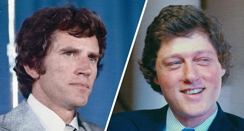Gary Hart et Bill Clinton. (Photos: Bettmann / Getty Images)