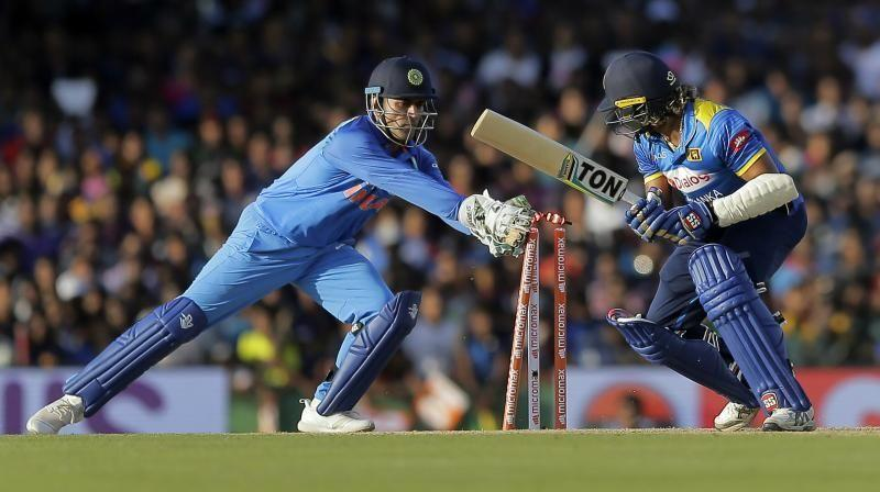 MS Dhoni became the first wicket-keeper in ODI history to affect 100 stumpings