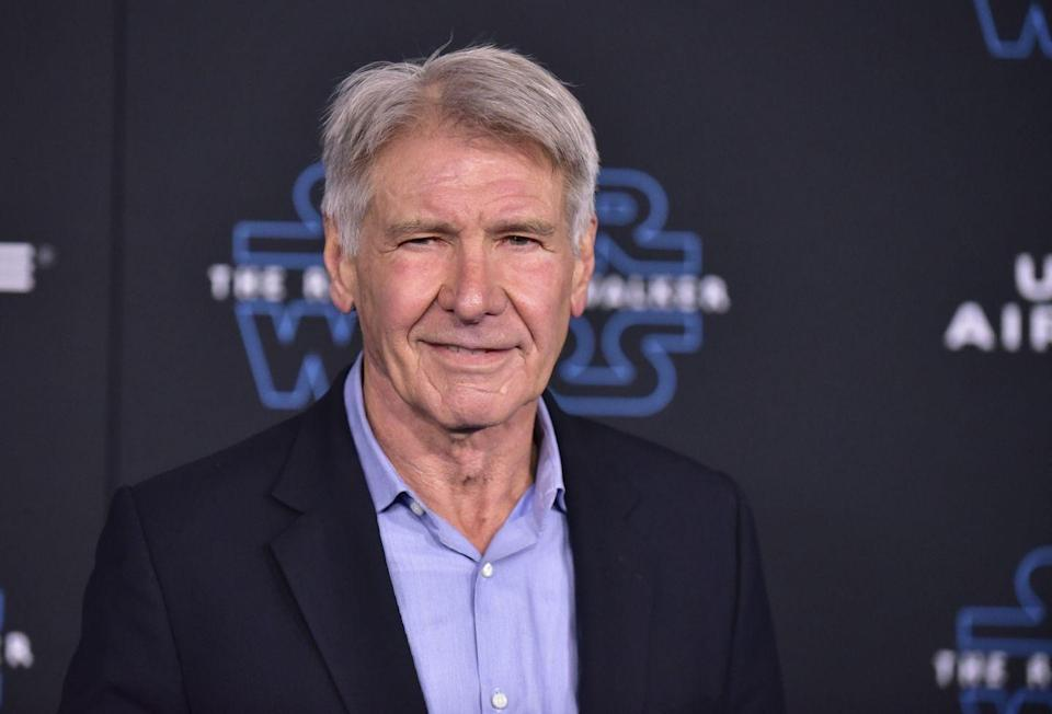 "<p>Now: Best known for playing roles like Han Solo and Indiana Jones, Ford's career is noted and vast. Ford holds a Golden Globe and a BAFTA, among <a href=""https://www.imdb.com/name/nm0000148/awards"" rel=""nofollow noopener"" target=""_blank"" data-ylk=""slk:countless other awards"" class=""link rapid-noclick-resp"">countless other awards</a>. He's truly one of Hollywood's greats.</p>"