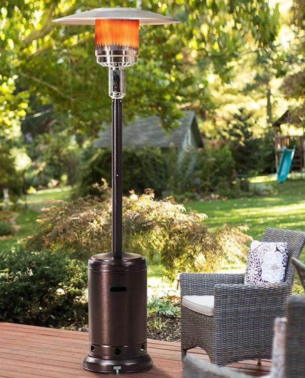 Sunjoy Lawrence Floor-Standing Patio Heater. (Photo: Amazon)
