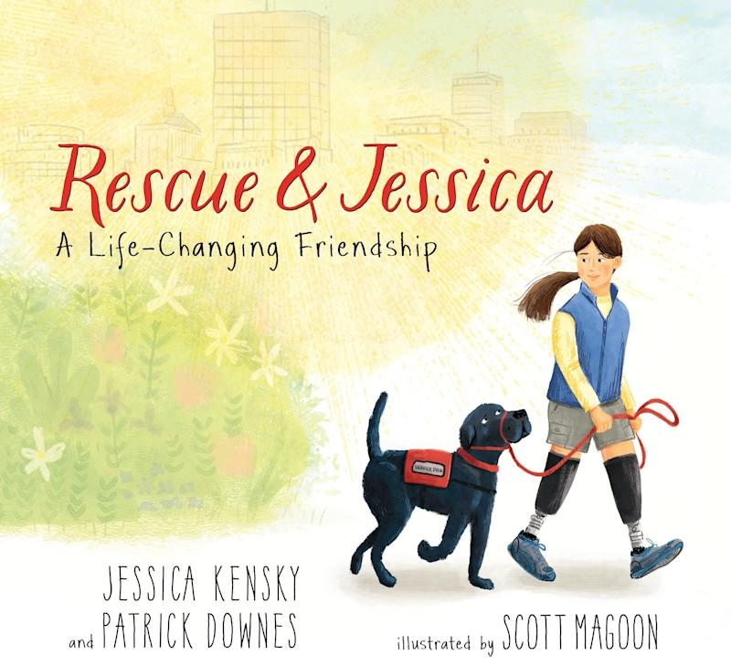 The couple's book, <i>Rescue & Jessica</i>, came out in April. (Jessica Kensky and Patrick Downes)
