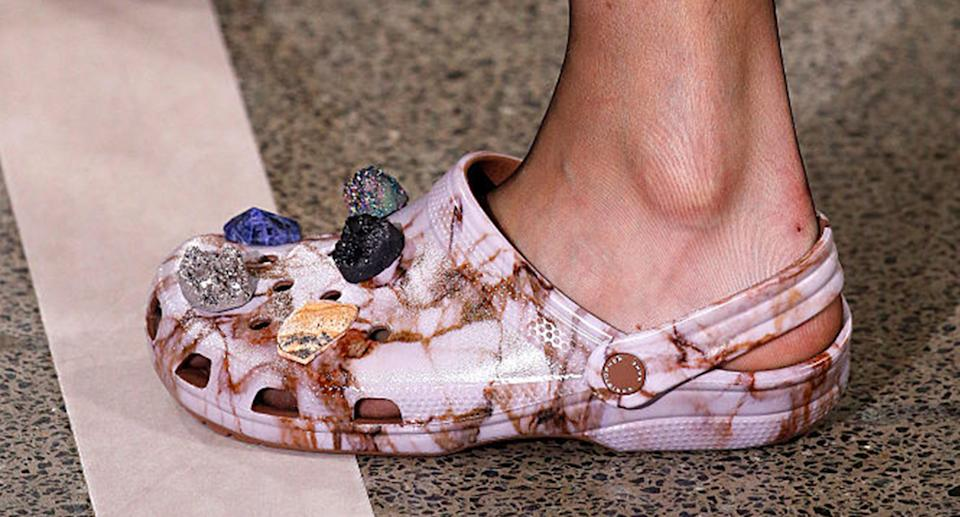 As Crocs sales soar, here's why the comfy footwear is worth it. (Getty Images)