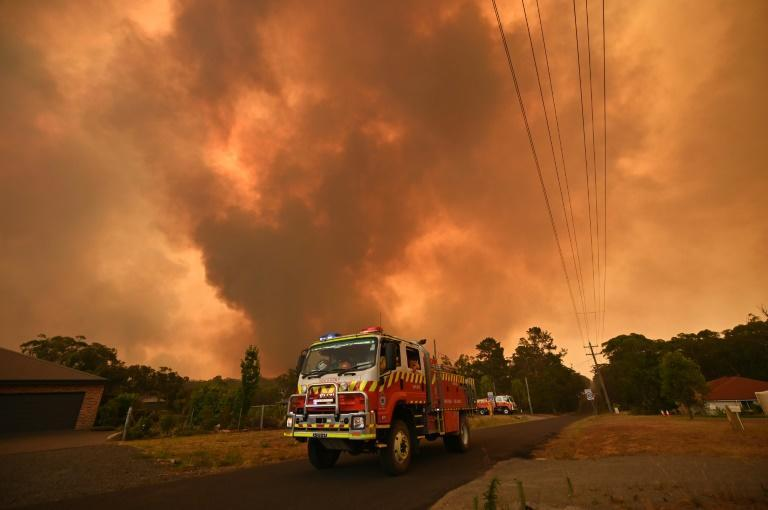 Hundreds of blazes are burning across Australia, which is experiencing a devastating summer bushfire season fuelled by a prolonged drought and climate change