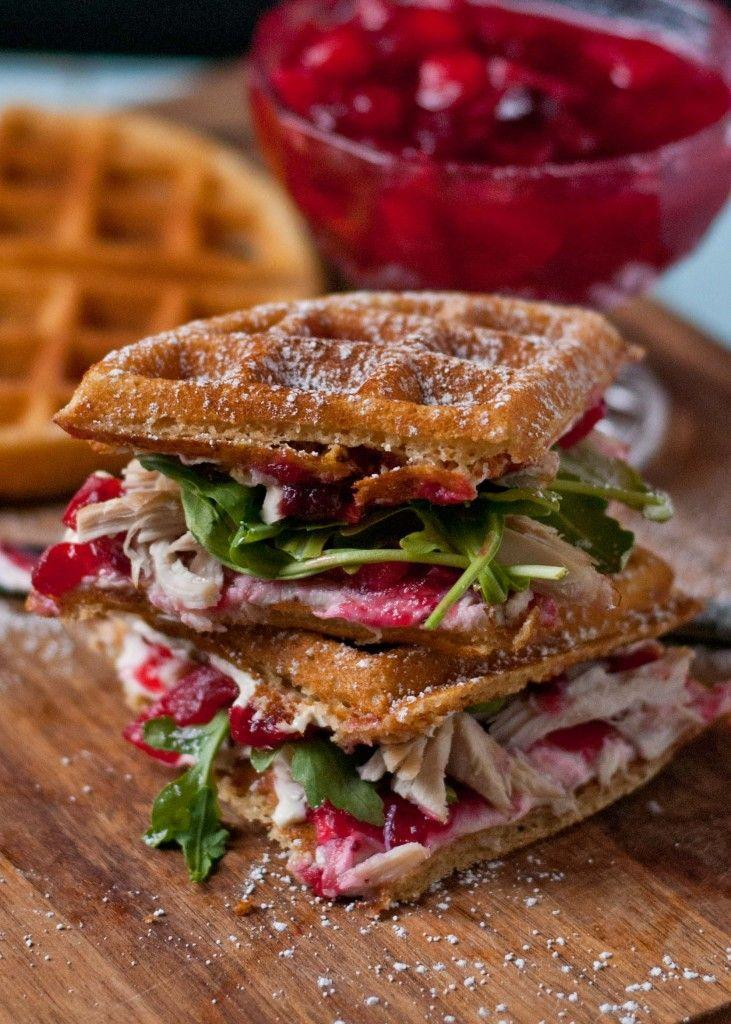"""<p>You've never had a Thanksgiving leftovers sandwich like this before.</p><p>Get the recipe from <a href=""""http://neighborfoodblog.com/2013/12/waffled-cranberry-cream-cheese-turkey-sandwiches-sundaysupper.html"""" rel=""""nofollow noopener"""" target=""""_blank"""" data-ylk=""""slk:Neighborfood"""" class=""""link rapid-noclick-resp"""">Neighborfood</a>.</p>"""
