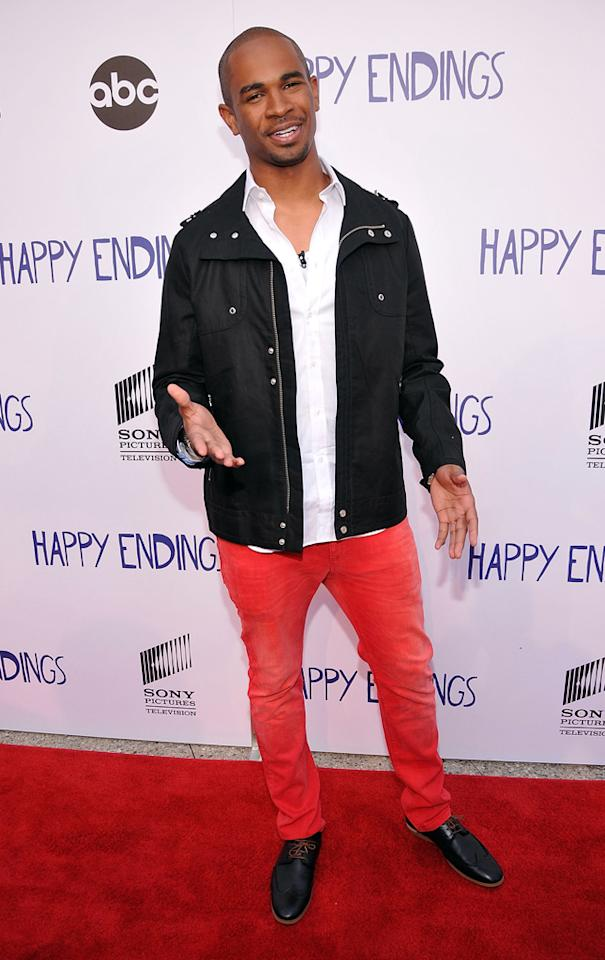 "Damon Wayans arrives at Sony Pictures Television's screening of ABC's ""Happy Endings"" at the  Leonard H. Goldenson Theatre on May 24, 2012 in North Hollywood,  California."
