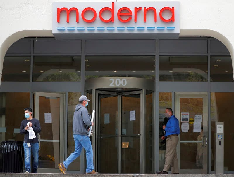Moderna on manufacturing scale-up of mRNA vaccine