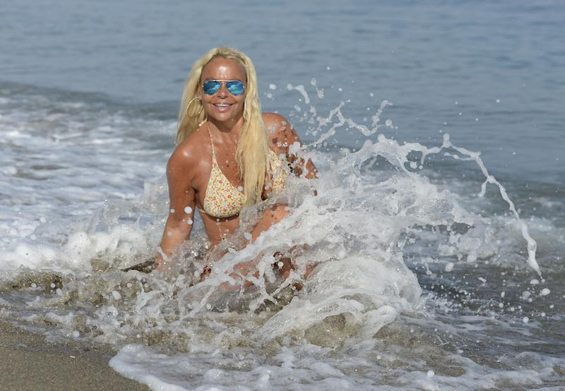 MARBELLA, SPAIN - JULY 06: (EXCLUSIVE COVERAGE) Leticia Sabater is seen on July 6, 2015 in Marbella, Spain. (Photo by Europa Press/Europa Press via Getty Images)