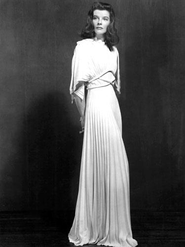 "<div class=""caption-credit""> Photo by: Everett Collection</div><div class=""caption-title"">Katharine Hepburn</div><i>The Philadelphia Story</i>, 1940. From the woman who insisted on wearing trousers, an unforgettable dress worn in an unforgettable movie. <br> <br> <b>More from REDBOOK: <br></b> <ul>   <li>     <b><a rel=""nofollow"" href=""http://www.redbookmag.com/beauty-fashion/tips-advice/october-2012-fashion-and-accessories-for-breast-cancer-awareness?link=rel&dom=yah_life&src=syn&con=blog_redbook&mag=rbk#slide-1"" target="""">50 Finds Under $50 -- That Give Back!</a></b>   </li>   <li>     <a rel=""nofollow"" target="""" href=""http://www.redbookmag.com/health-wellness/advice/increase-metabolism?link=rel&dom=yah_life&src=syn&con=blog_redbook&mag=rbk#slide-1""><b>20 Ways to Speed Up Your Metabolism</b>     <br></a>   </li> </ul>"
