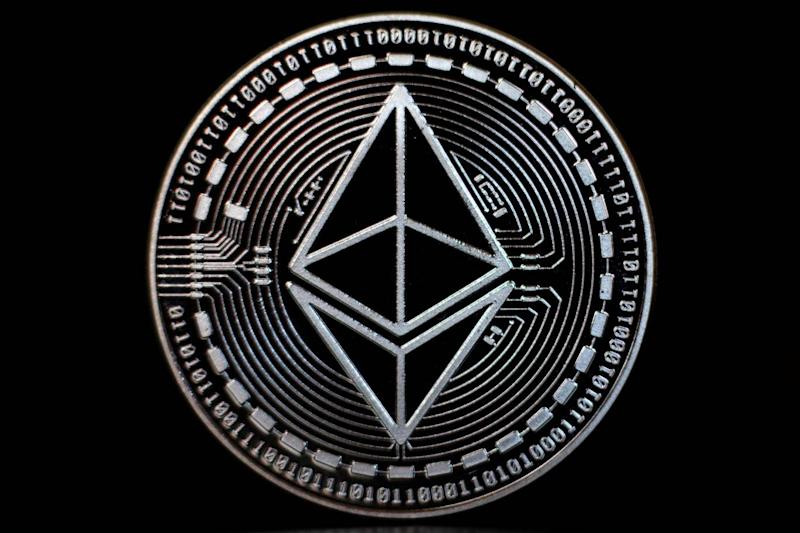 The ethereum cryptocurrency has a market cap of around $22 billion (Getty Images)