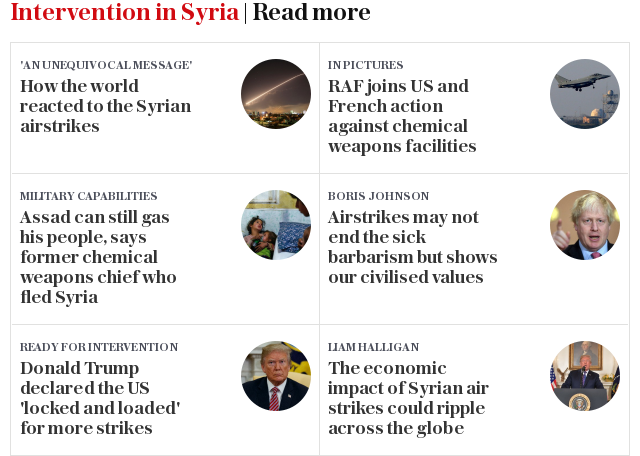 Intervention in Syria   Read more