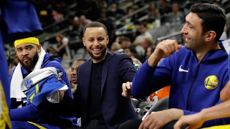 Zaza Pachulia shares text Steph Curry sent him during radio interview