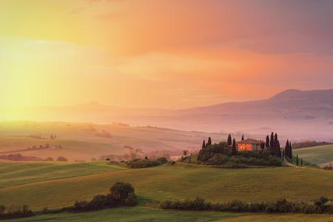 Lovely Tuscany - Credit: getty